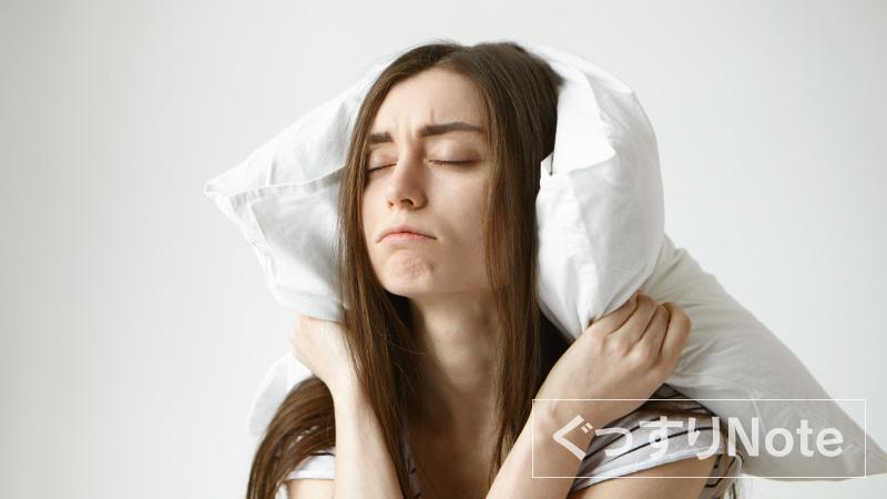 枕が低くて眠れない場合の応急処置