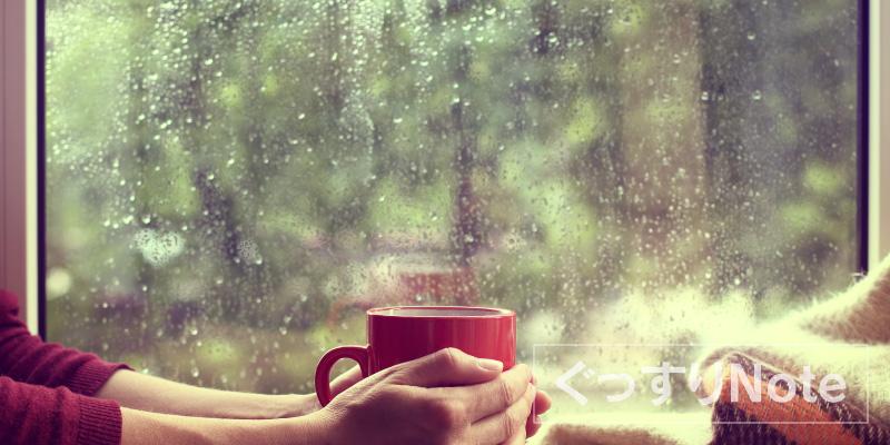 安眠音楽雨の音