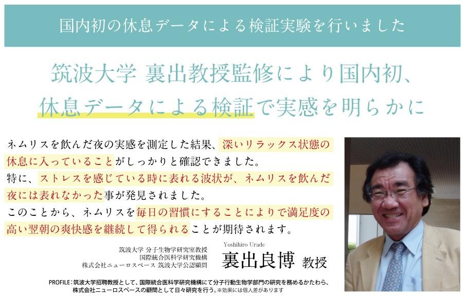ネムリス筑波大学検証